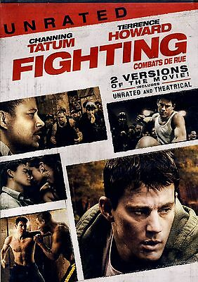 Brand New Dvd  // Fighting,unrated, Terrence Howard,channing Tatum