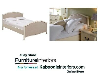 Rococo French Style Antique White Double or King Size. Bed Frame - Free Delivery