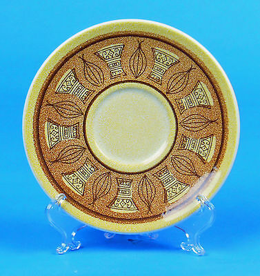 Set of 3 Saucers, SUPERB! Honey Gold, Taylor, Smith & Taylor, Ironstone