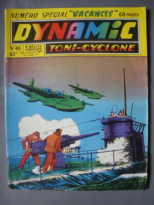 ► Dynamic - Toni Cyclone N°46  - Special 8 Recits Complets - 1956 - Tbe