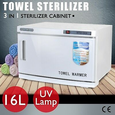 UV Towel Sterilizer Cabinet Warmer Disinfection Heater Beauty Hotel Salon Spa