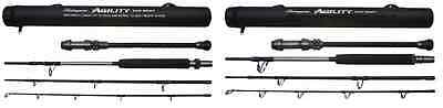 Shakespeare Agility EXP 4-Piece Travel Boat Rods 12-20lb/20-30lb/30-50lb
