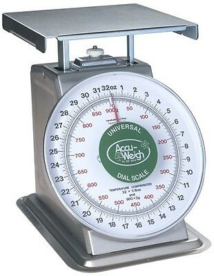 20 LB x 1 OZ Yamato SM(N) Series NSF Mechanical Food Scale All Stainless Steel