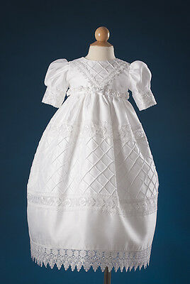 NWT 3 & 6 Month Gorgeous Girls Christening Gown