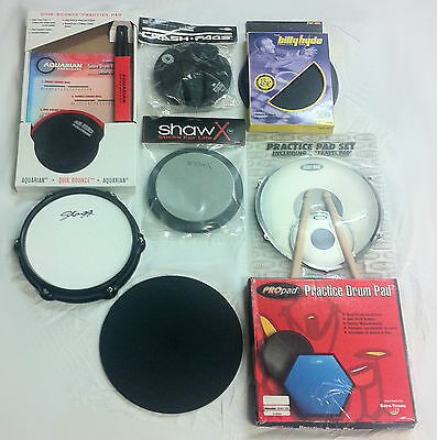 Drum Practice Pad Quiet Near Silent Lots Of Options Ideal For Beginners Travel