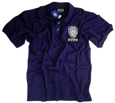 NYPD Shirt Polo T-Shirt Officially Licensed By The New York City Police Dept