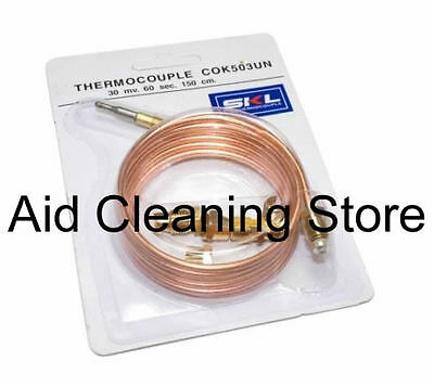 Universal Gas Thermocouple 1500Mm Long With Threaded End Acook15
