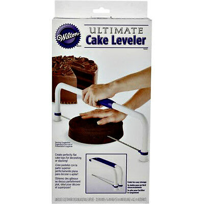 Wilton Ultimate Cake Leveller Great for Stacking