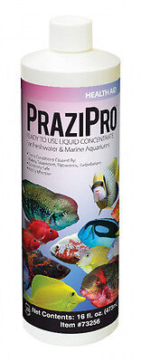 Aquarium Solutions Prazipro 1 Oz Parasite Treatment ** Free Shipping 120 Gal