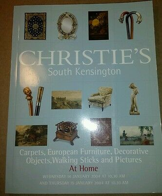 Christies Carpets, European Furniture, Decorative Objects,Walking Sticks,Pic's