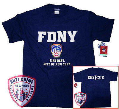 FDNY Shirt T-Shirt Rescue 1
