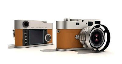 USD - Camera 1:1 Paper Model - Leica M9-P Hermes Edition