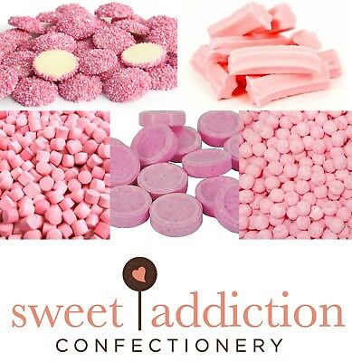 DIY Candy Buffet Pink 3.2kg  - Bulk Lollies Wedding Chocolate Sweet Addiction