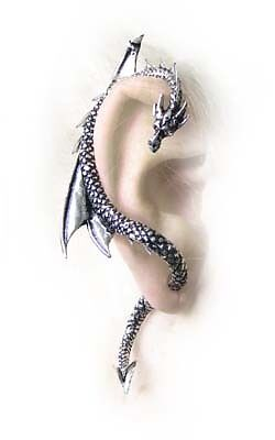 Dragons Lure Ear Wrap from Alchemy Gothic Wicca Pagan Rock Punk Jewelery New