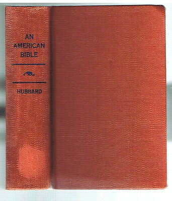 An American Bible by Alice Hubbard 1911 1st Ed. Rare Vintage Book! $