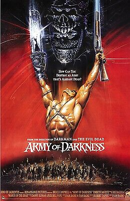 Army of Darkness (2) - Bruce Campbell - A4 Laminated Mini Poster