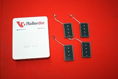 Roller Garage Door Receiver Box RD1X4 with 4 Transmitters