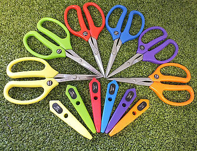 "Barnel Sharp Floristry Crafting Scissors 6.25"" with Sheath Floral Gardening"