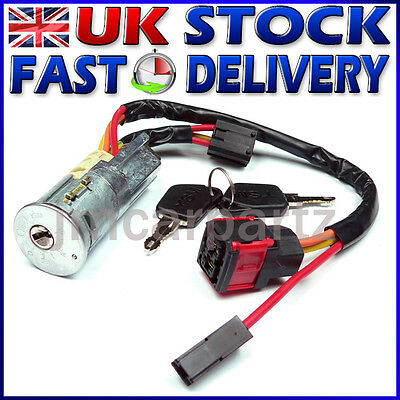 CITROEN XSARA PICASSO 1998 - 2005 Ignition Starter Lock Barrel & Keys BRAND NEW