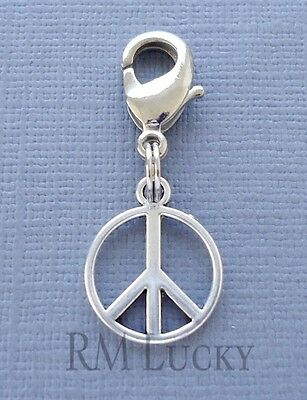 floating locket S84 Cross Clip On Charm with Lobster Clasp Fit Link Chain