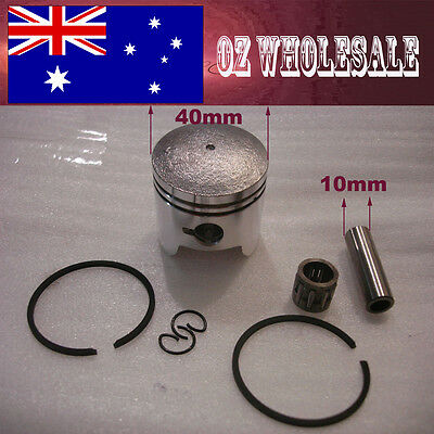 5X 40mm Piston Rings 43 49cc 2 Stroke Mini Dirt PIT Quad Bike ATV Pocket Scooter