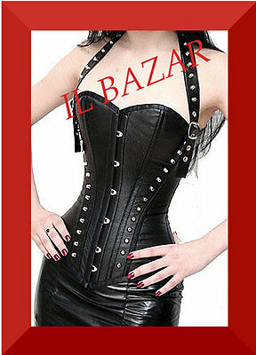 gothic bustino corsetto + perizoma pvc tg. small,medium e large