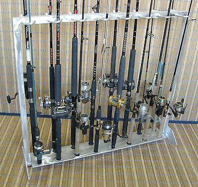 "Fishing Rod Rack - ""Classic"" No Fish 16 Combos"