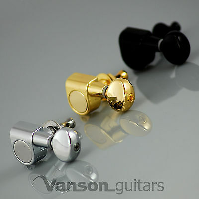 6 x Vanson '05 Tuners for Stratocaster Telecaster Strat Tele Squier Jackson ®*