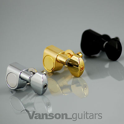 6 x Vanson '07 Tuners for Stratocaster Telecaster Strat Tele Squier Jackson ®*