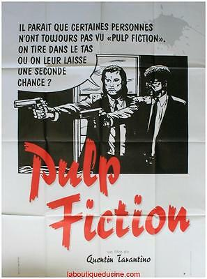 PULP FICTION Affiche Cinéma ORIGINALE 160x120 Movie Poster QUENTIN TARANTINO