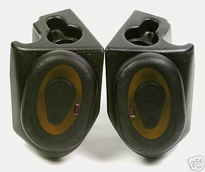 New VDP Jeep Sound Wedges with out Speakers in Black 53101