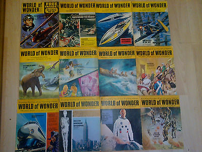 World Of Wonder Magazines Collection X 12 Job Lot