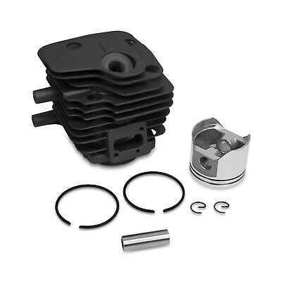 New Partner Husqvarna K650 K700 Cylinder Head Piston Kit Rings Pin Clips 50mm