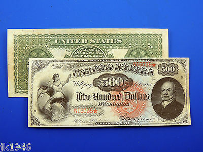Reproduction $10 1869 Rainbow US Paper Money Currency Copy