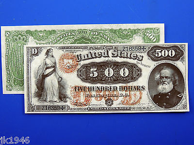 Reproduction $50 1880 LT US Paper Money Currency Copy