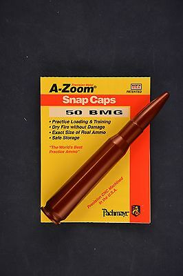 A Zoom Snap Cap 50 BMG Browning Machine Gun New In Package #11451