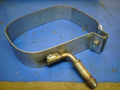 Peugeot 207 Rear Exhaust Box Silencer Body Band, Strap, Bracket