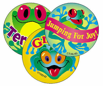 Frolicking Frogs Pineapple Scratch n Sniff Smelly Reward Stickers - Large 25mm