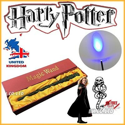 NEW edition HARRY POTTER HERMIONE GRANGER LED WAND Light up Xmas Gift Party
