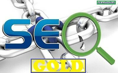 600 PAGERANK 2 to 9 Seo GOLD Backlinks for your site ! Great SEO package !