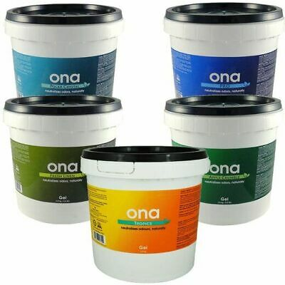 Ona Gel 4L Air Odour Eliminator/Neutralizer Grow Rooms/Tents Fresh Smell Agents