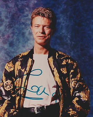 David Bowie Signed - Autographed Reprint 8x10 Photo