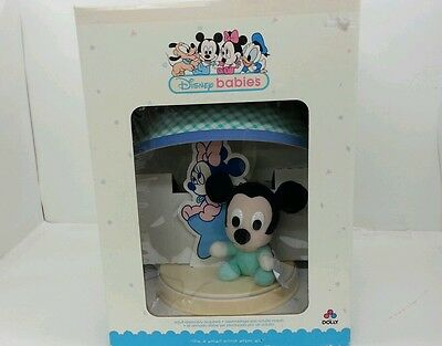 Disney Mickey Mouse Baby Nursery Lamp with Shade