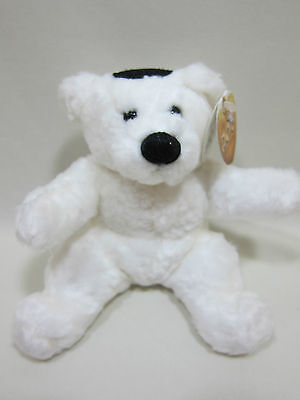 White Dov Bear by Dov Bear Company, New with Tags in Original Wrapping