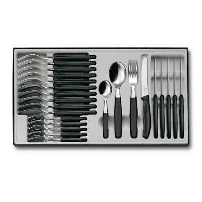 Victorinox Cutlery Set 24 Piece Black