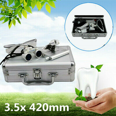 Dental Slow Low Speed Contra Angle Handpiece Kit E-type Air Mortor 4Holes