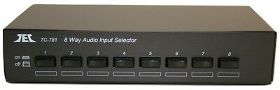Technolink TC-781 Eight Input Line Level Stereo Source Selector