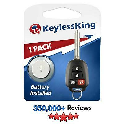 New 2012-2014 Key Uncut Remote Headed Combo Keyless Entry Ignition For HYQ12BDM