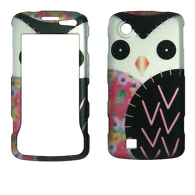 Black Pink White Silver Owl For  LG Chocolate Touch VX8575  feel Case Cover