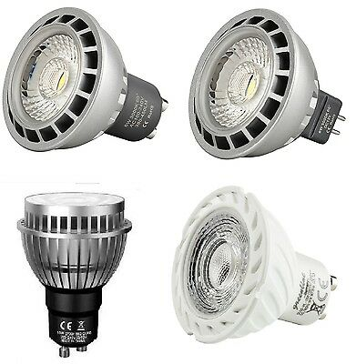 4W 6W 8W 10W LED GU10 MR16  MAX 700 LM  Spot Strahler [optional dimmbar] EEK A+